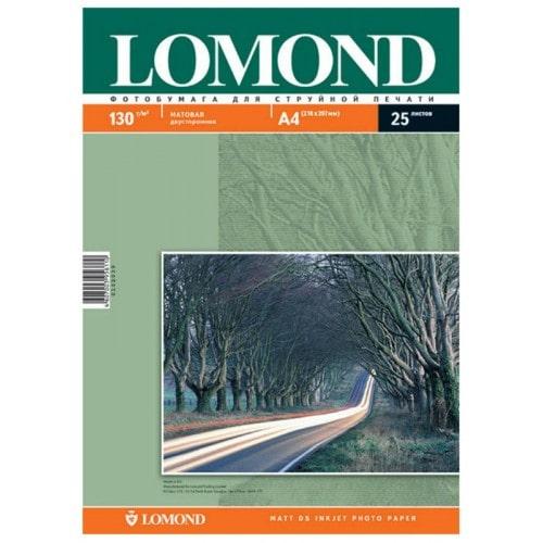 Бумага Lomond 0102004 двухсторонняя матовая для струйной печати (130гр/А4/100л)