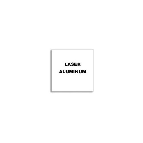 Алюминий для лазерной гравировки, белый/черный 600х300х0,5мм