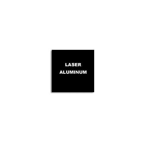 Алюминий для лазерной гравировки, черный/белый 600х300х0,5мм