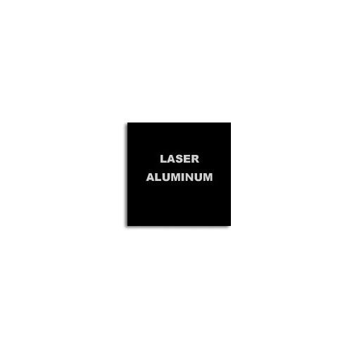 Алюминий для лазерной гравировки, черный/серебро 600х300х0,5мм