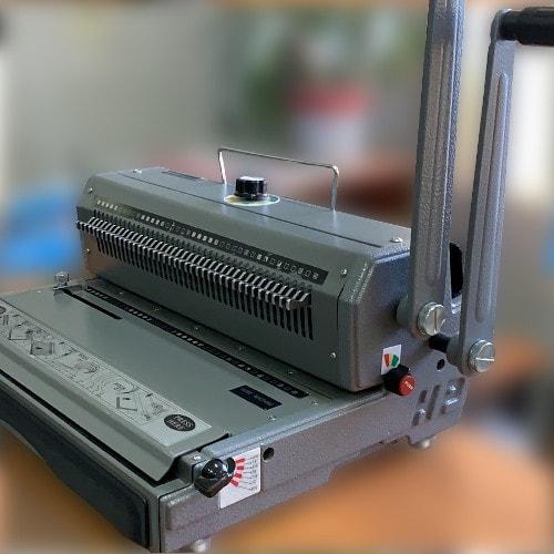 Брошюровщик на металлическую пружину WireMac31 (Тайвань) Б/У