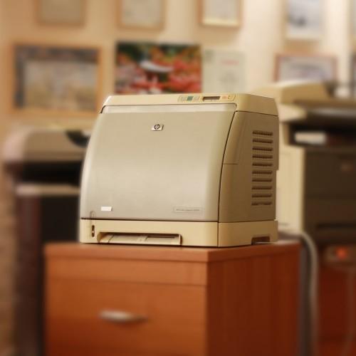 Принтер HP Color LaserJet 2600n Б/У
