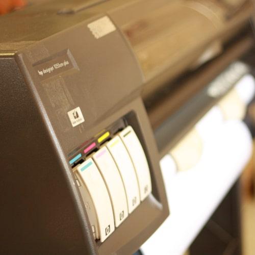 Плоттер HP DESIGNJET 1055CM, C6075B Б/У