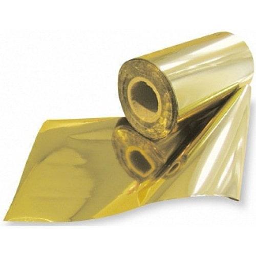 Фольга для горячего тиснения, золото, универсальная 0.1×285м