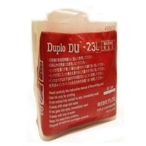 Краска DUPLO DU-23L красная, 1000 мл (DUP90157)