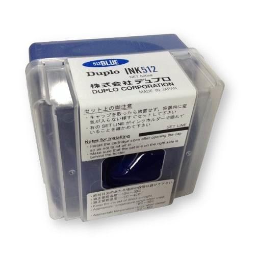 Краска синяя DUPLO INK512, 600 мл, (DUP90122)