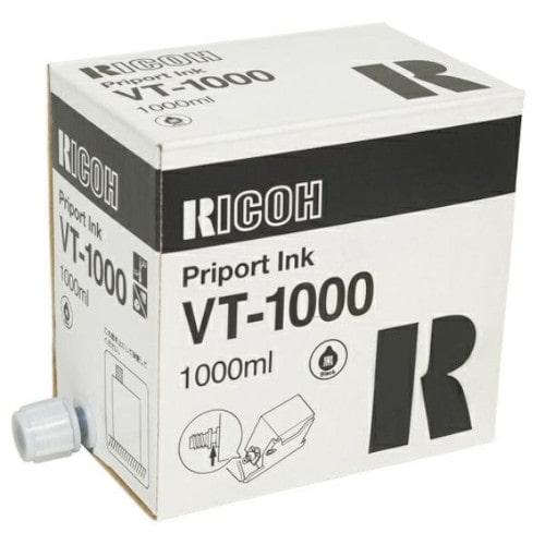 Краска RICOH VT-1000 (CPI-4), черная, 1000мл, 817140/817144