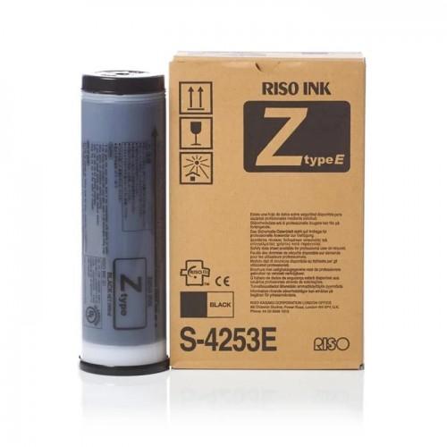 Краска RISO RZ S-4253E для ризографов RZ 370/300/230/200 Z-Type E, черная, 1л