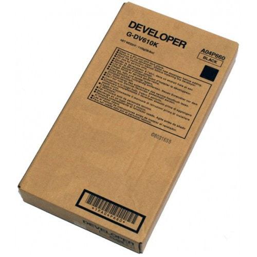 Девелопер Konica Minolta DV-512К черный, порошок