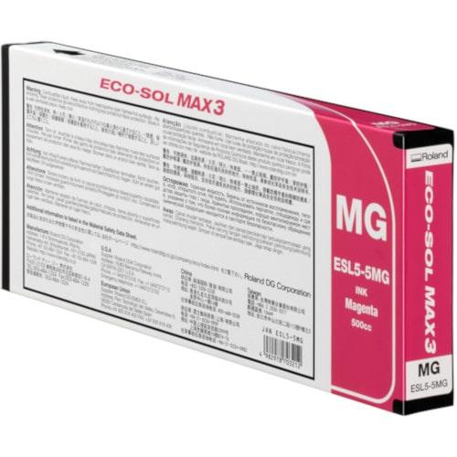 Картридж пурпурный Roland ECO-Sol MAX3, ESL5-MG, 220мл