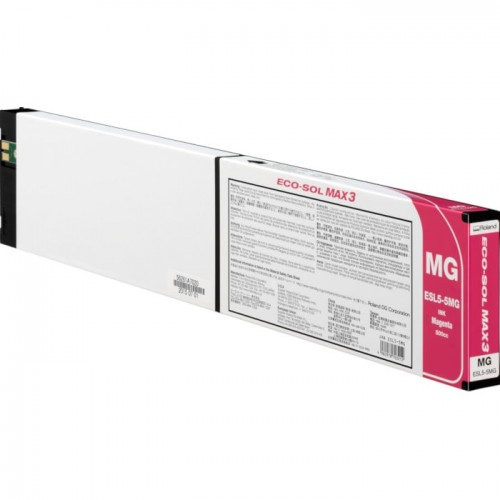 Картридж пурпурный Roland ECO-Sol MAX3, ESL5-5MG, 500мл