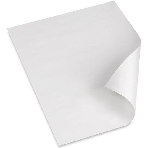 Картон монтажный двухсторонний самоклеющийся, белый, 1 лист