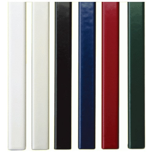 Корешки МеталБинд 28мм (до 260 листов) А4 304мм зеленые (O.SimpleChannel), 25шт