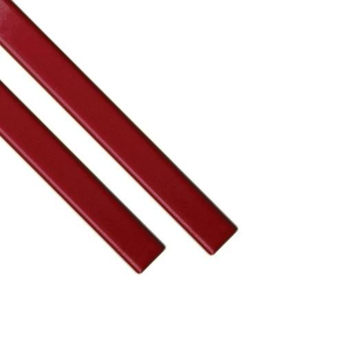 Каналы Металбинд O.SimpleChannel красные А4, 24 мм (до 220 листов), 25 шт