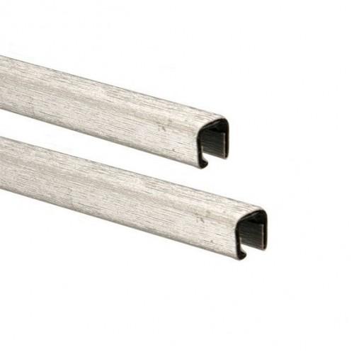 Каналы Металбинд с покрытием Techno серебро А4, 10 мм (до 90 листов), 10 шт