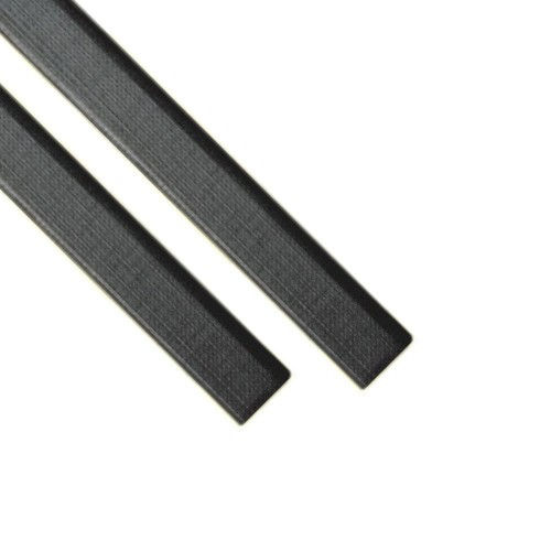 "Каналы Металбинд O.CHANNEL с покрытием ""ткань"" чёрные А4, 13 мм (до 120 листов), 10 шт"