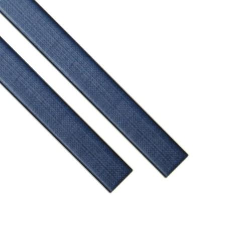 """Каналы Металбинд O.CHANNEL с покрытием """"ткань"""" синие А4, 32 мм (до 300 листов), 10 шт"""