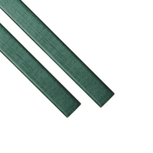 """Каналы Металбинд O.CHANNEL с покрытием """"ткань"""" зелёные А4, 13 мм (до 120 листов), 10 шт"""