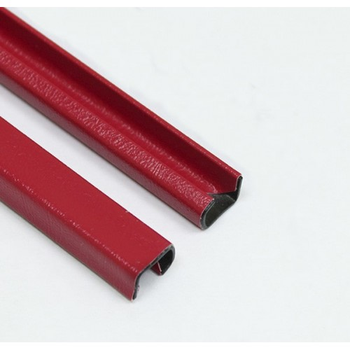 Каналы Металбинд 10мм А4, красные, неоригинальные, 1 шт