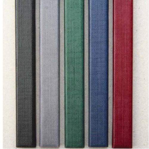 Каналы Металбинд с покрытием 5 мм Mini (до 35 листов) А5 бордо (O.CHANNEL ), 10 шт
