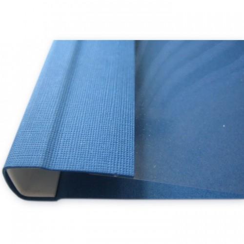 Обложки мягкие Opus C-BIND SOFTCLEAR B (13мм) синие, А4, 50 шт