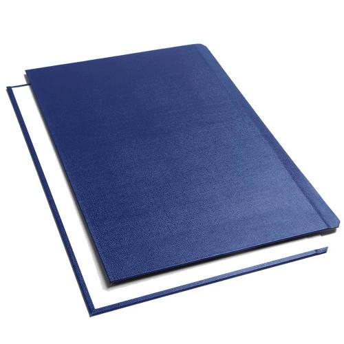 Обложки Металбинд O.Hard Cover синие, 217х151 мм, 10 пар