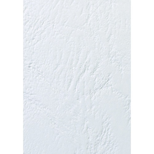 Обложки для переплёта кожа белые А3, 100 шт