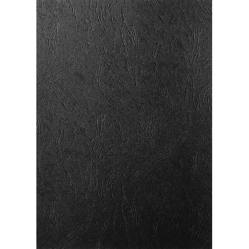 Обложки для переплёта кожа черные А3, 10 0шт