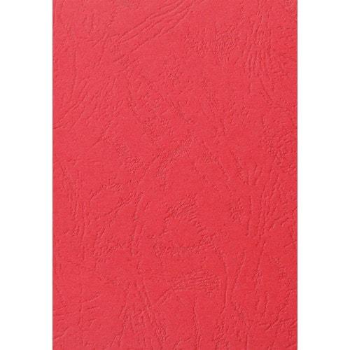 Обложки для переплёта кожа красные, А4, 100шт