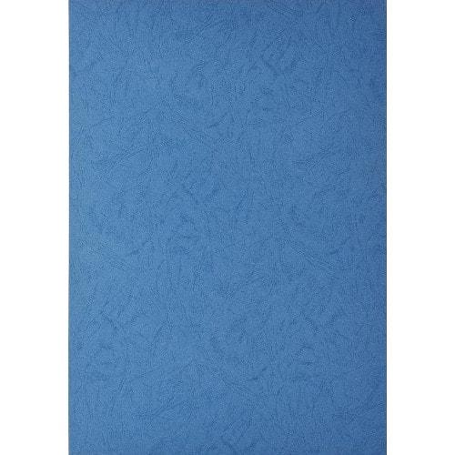 Обложки для переплёта кожа синие, А4, 100шт