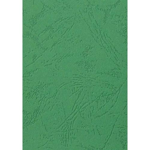 Обложки для переплёта кожа зеленые, А4, 100 шт