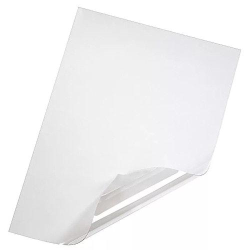 Обложки для переплёта прозрачные А4 180 мкм, 100шт