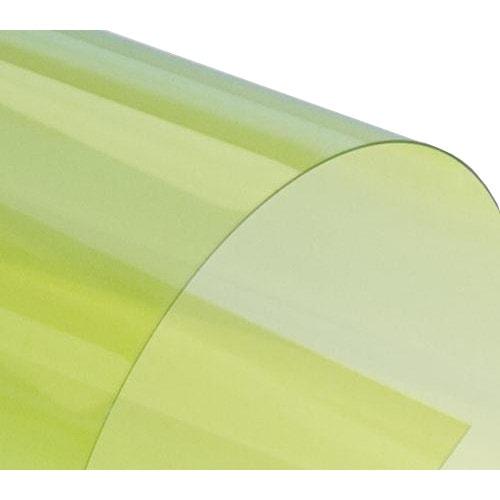 Обложки для переплёта тонированные желтые А4 180 мкм, 100 шт