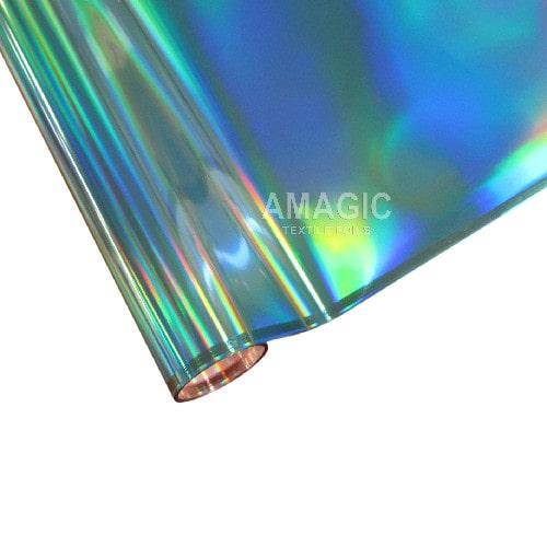 Фольга для текстиля Amagic TSX BFZP02, синяя радуга, 0.64x60м