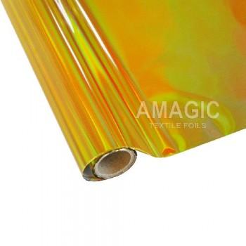 Фольга для текстиля Amagic TSX G0ZP02, золотая радуга, 0.64x60м