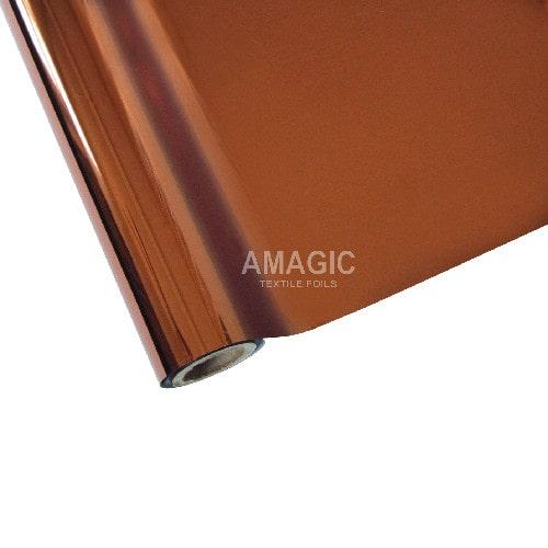 Фольга для текстиля Amagic TSX H3, бронза, 0.64x120м