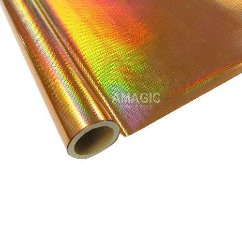 Фольга для текстиля Amagic TSX HAKP92, золото чешуя, 0.64x60м