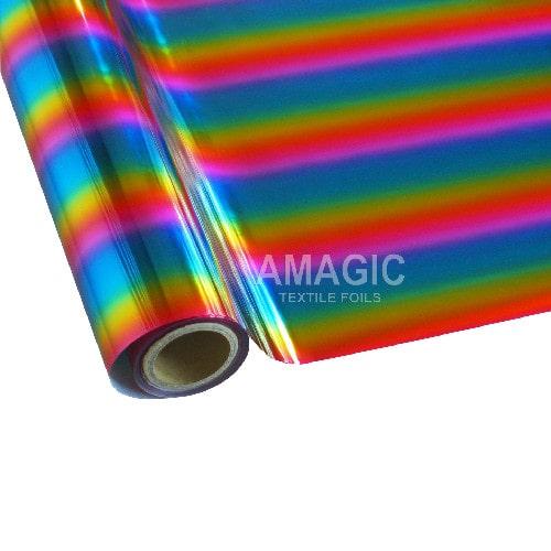 Фольга для текстиля Amagic TSX MCAA01, радуга, 0.64x60м