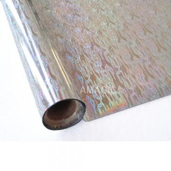 Фольга для текстиля Amagic TSX S0K114, серебро водопад, 0.64x60м
