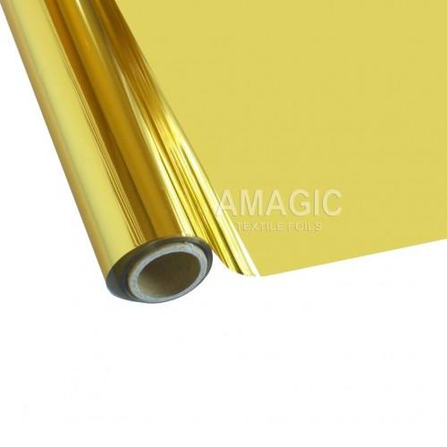 Фольга для текстиля Amagic TSX HC, золото, 0.64x300м