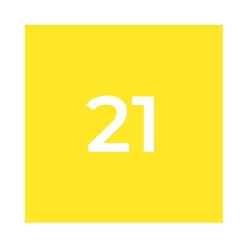 Краска Marabu GL 021 средне-желтая