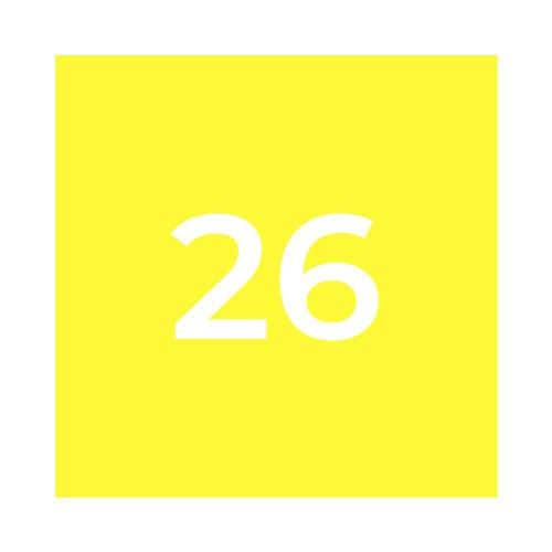 Краска Marabu SR 026 светло-желтая