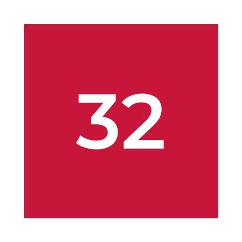 Краска Marabu PY 032 Carmine Red, красная