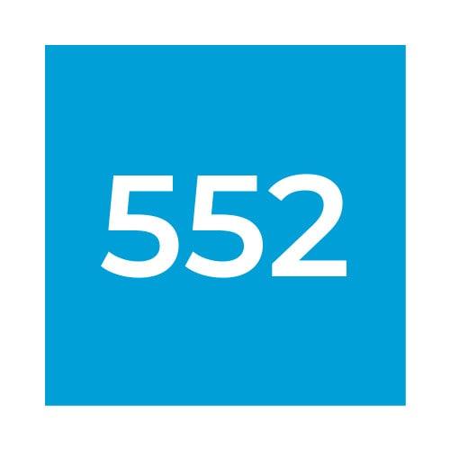 Краска Marabu SR 552 Прозрачный синий