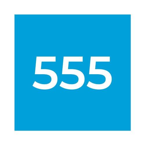 Краска Marabu GL 555 прозрачная синяя