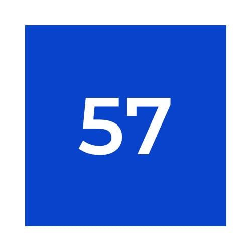 Краска Marabu GL 057 бриллиантово синяя