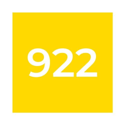 Краска Marabu UVAR 922 Светло-жёлтая