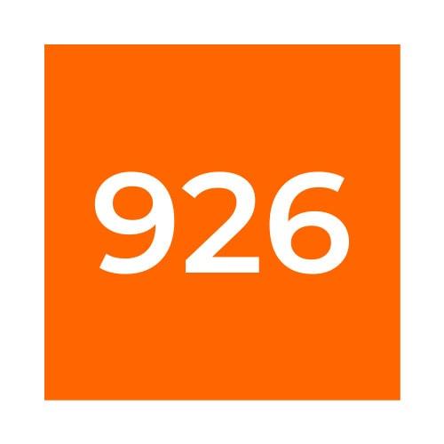 Краска Marabu UVAR 926 оранжевая