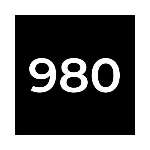 Краска Marabu UVFM 980 черная, 1кг