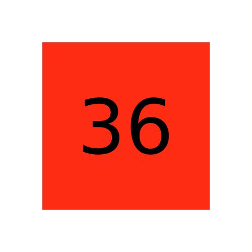 Краска Маrabu LIG 036 Красная киноварь